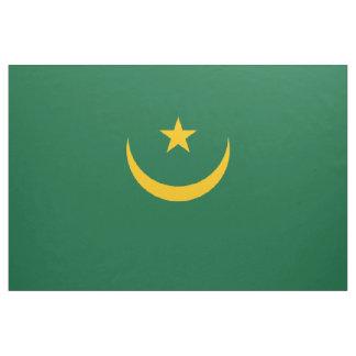 Mauritania Flag Fabric