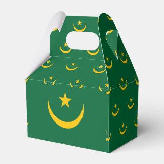 Mauritania Flag Favour Box