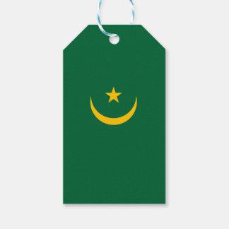 Mauritania Flag Gift Tags