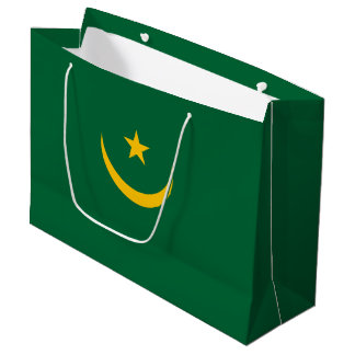 Mauritania Flag Large Gift Bag