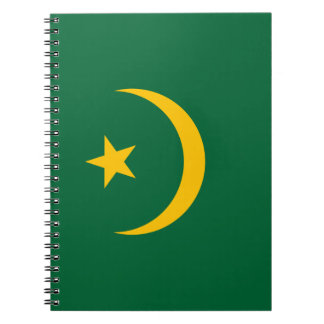 Mauritania Flag Notebook