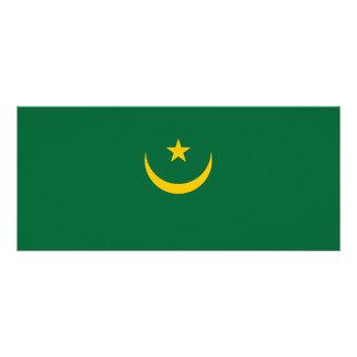 Mauritania Flag Rack Card