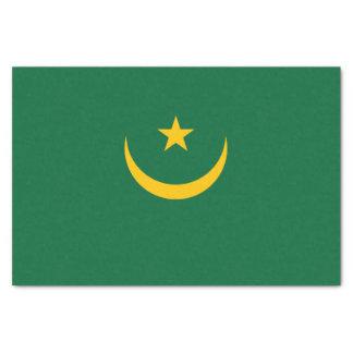 Mauritania Flag Tissue Paper