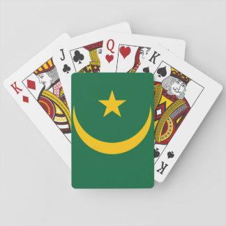 Mauritania National World Flag Playing Cards