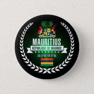 Mauritius 6 Cm Round Badge