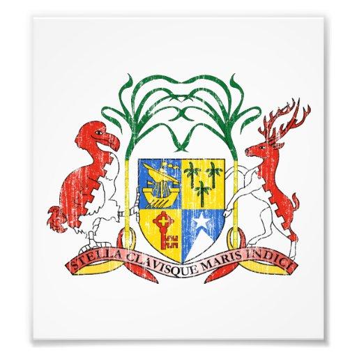 Mauritius Coat Of Arms Photo
