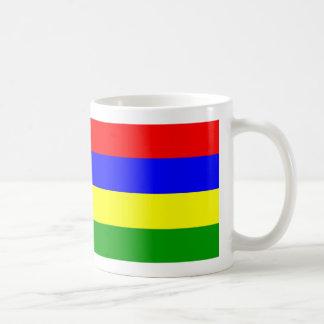 Mauritius Flag Coffee Mug