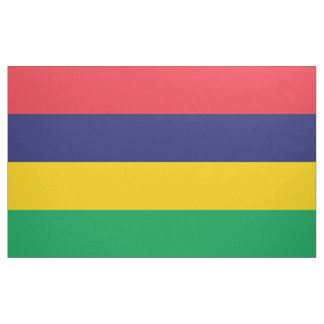 Mauritius Flag Fabric