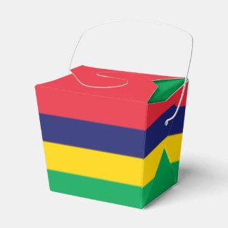 Mauritius Flag Favour Box
