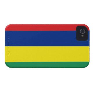 Mauritius Flag iPhone 4 Case