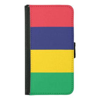 Mauritius Flag Samsung Galaxy S5 Wallet Case
