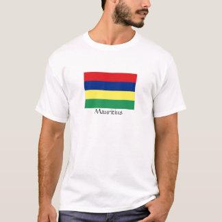 Mauritius flag souvenir thirt T-Shirt