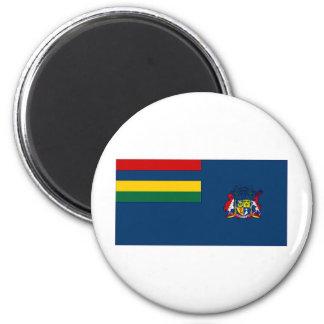 Mauritius Government Ensign 6 Cm Round Magnet
