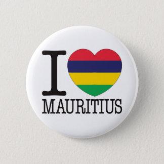 Mauritius Love v2 6 Cm Round Badge