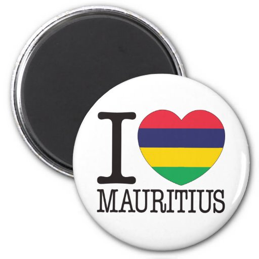 Mauritius Love v2 Magnets