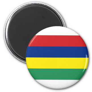 Mauritius National  Flag Magnet