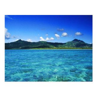 mauritius postcard