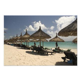 Mauritius Poste de Flacq Beach scene at the Photo Art