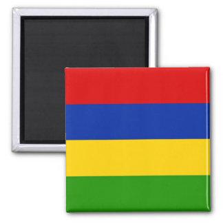 Mauritius Square Magnet