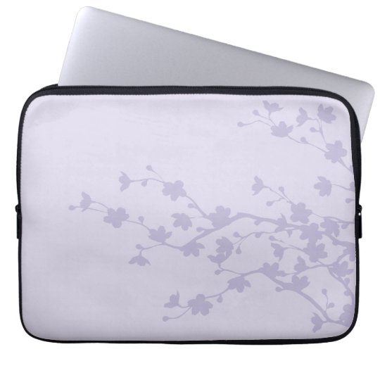 Mauve Blossoms Laptop Sleeve