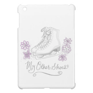 Mauve Figure Skate Custom Gift for Figure Skater iPad Mini Case
