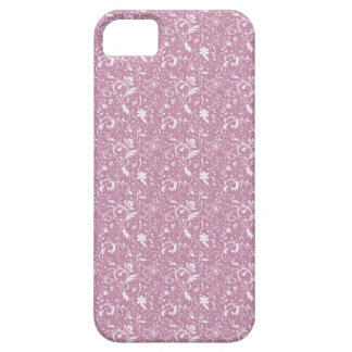 Mauve Floral Swirls iPhone4 Case For The iPhone 5