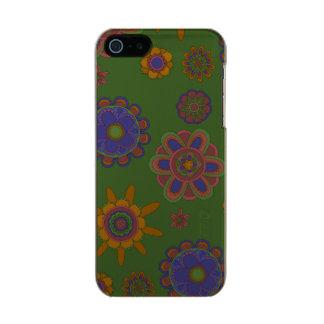 Mauve & Gold Flowers Incipio Feather® Shine iPhone 5 Case