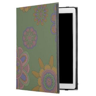"""Mauve & Gold Flowers iPad Pro 12.9"""" Case"""