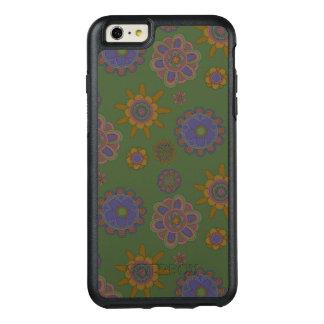Mauve & Gold Flowers OtterBox iPhone 6/6s Plus Case