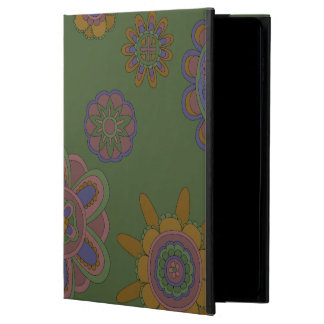 Mauve & Gold Flowers Powis iPad Air 2 Case