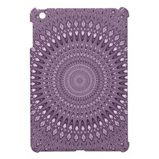 Mauve mandala iPad mini cases