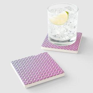 Mauve-Miami-Diamonds-Accent-Coasters Stone Coaster