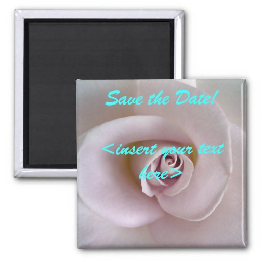 Mauve Rose Save the Date!  magnet