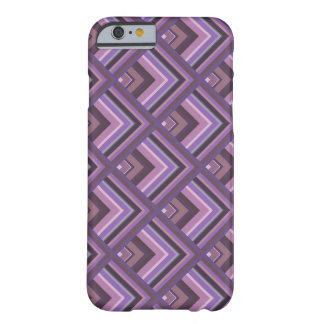 Mauve stripes scale pattern barely there iPhone 6 case