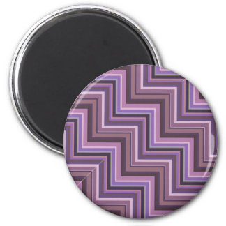 Mauve stripes stairs pattern magnet