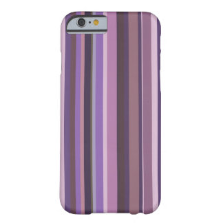 Mauve vertical stripes barely there iPhone 6 case