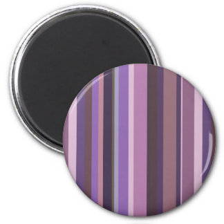 Mauve vertical stripes magnet
