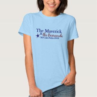 Maverick and Barracuda (McCain Palin 2008) Tee Shirt