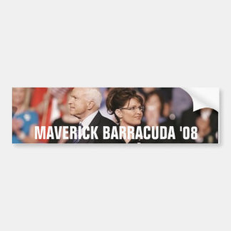 MAVERICK BARRACUDA '08 BUMPER STICKER