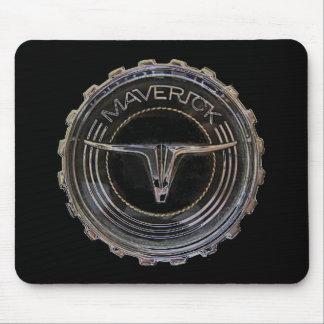 Maverick pad black mouse pad