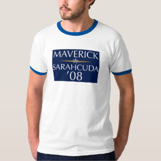 Maverick/Sarahcuda '08 Men's Ringer Tee