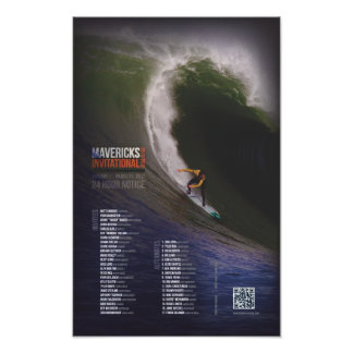 Mavericks Invitational - Opening Ceremony Poster