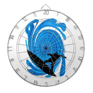 Mavericks Rising Dartboard