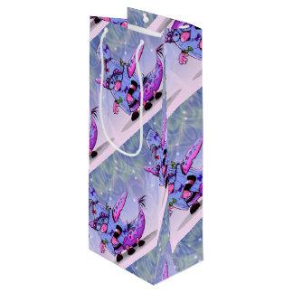 MAVILLA ALIEN MONSTER  Gift Bag - Wine