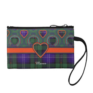 Mavor clan Plaid Scottish kilt tartan Change Purse