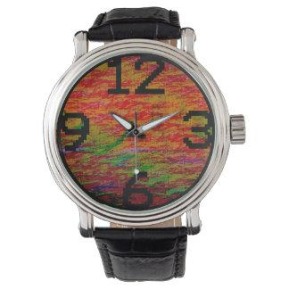MavWil Glitch Desert Design Watch