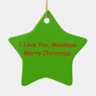 MawMaw Christmas Ornament Gift