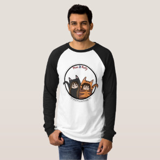 Max and Nelly - a lovely couple of manga cats T-Shirt