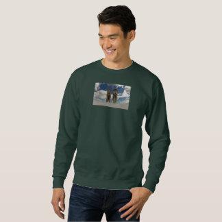 Max and Zorro Sky Sweatshirt (Forest Green)