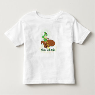 Max | Blessed with Riches Toddler Jersey T-Shirt